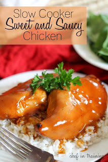Recipe: Slow Cooker Sweet and Saucy Chicken