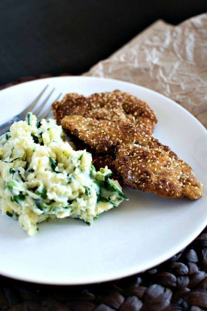 Olive Oil, Garlic, Chives And Romano Cheese Mashed Potatoes Recipe