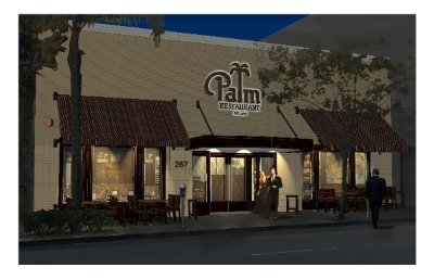 New Palm Restaurant to Open in Beverly Hills November