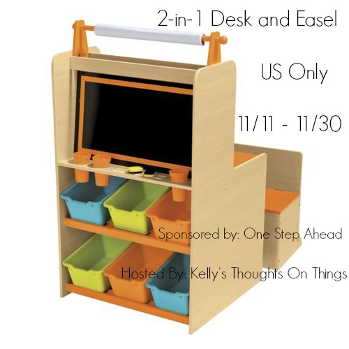 2 In 1 Desk And Easel By One Step Ahead Giveaway