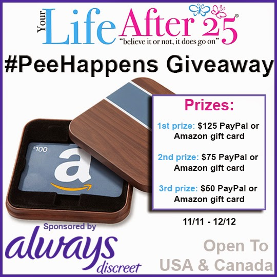 Always/ Your Life After 25 Giveaway