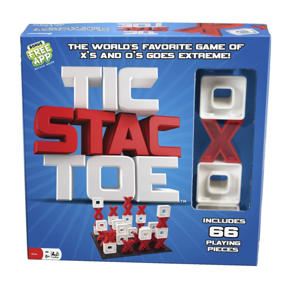 Tic Stac Toe #HolidayGiftGuide