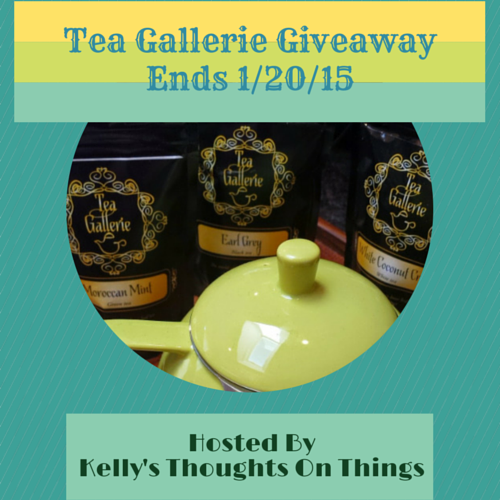 Tea Gallerie Giveaway ends 1/20/15
