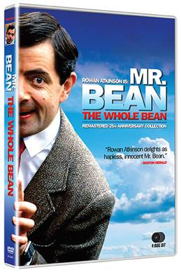 Mr bean the whole bean 25th anniversary collection 4 dvd set 4 dvd solutioingenieria Choice Image