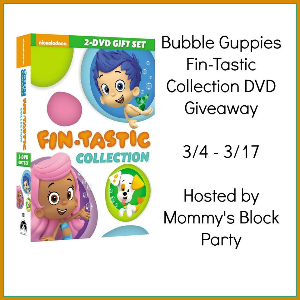 Bubble Guppies DVD Set Giveaway