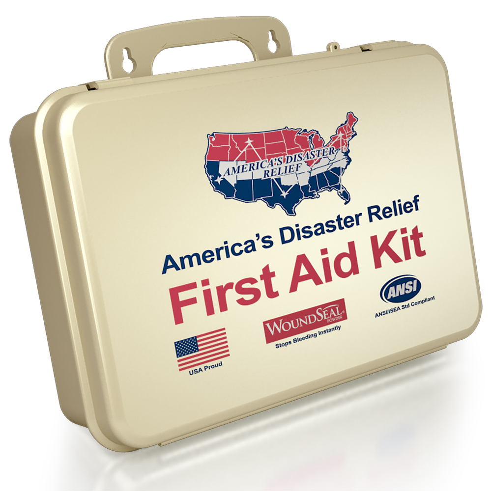 First Aid Kit By America's Disaster Relief #Giveaway