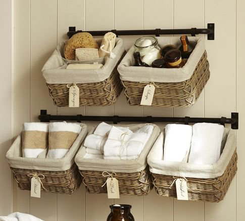 Clever Ways To Use Baskets As Home Décor