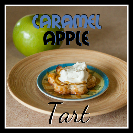 these caramel apple tarts remind me of mini apple pies they are ...