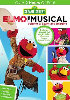Sesame Street Elmo The Musical 2 Imagine and Learn It's volume two of Elmo's math filled musicals!