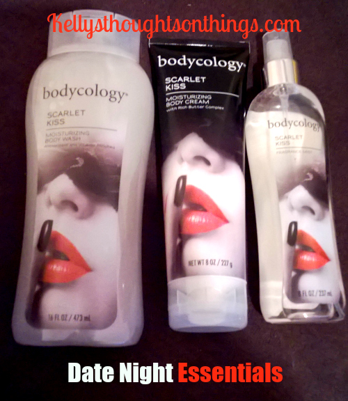 Scarlet Kiss by bodycology® – Date Night Essentials