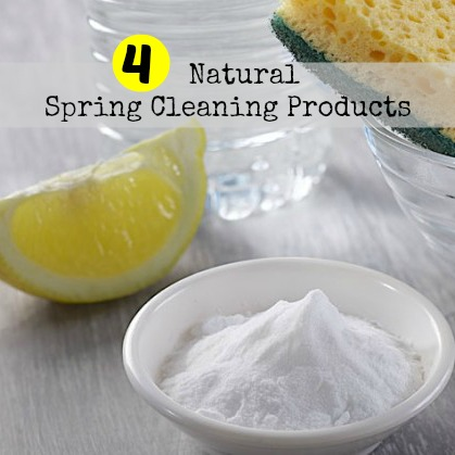 natural spring cleaning products