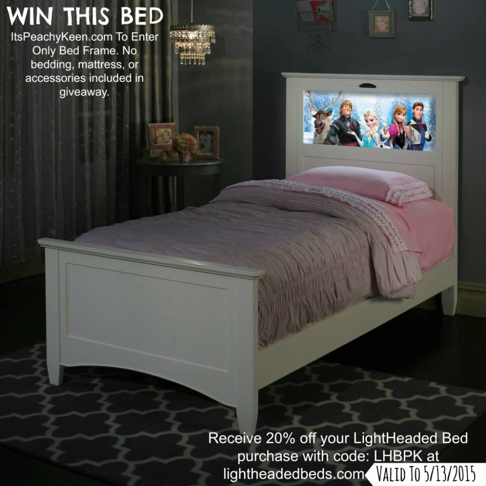 LightHeaded Bed Giveaway #LightHeadedBeds Ends 5/3