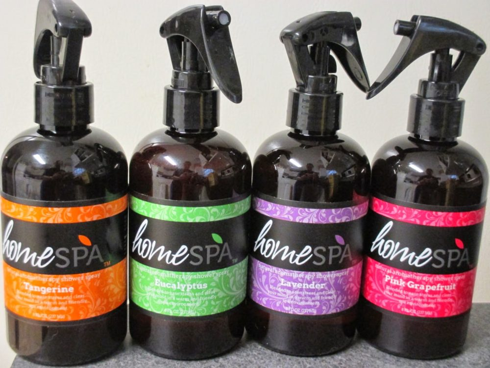 HomeSpa Aromatherapy Shower Sprays