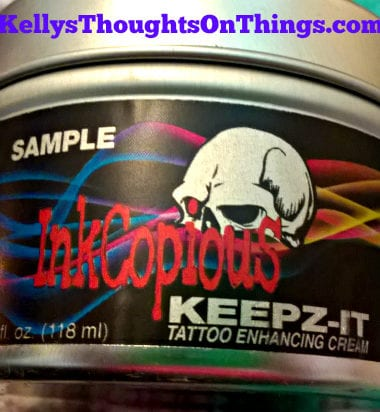 KEEPZ-IT cream- enhance and rejuvenate your tattoos.