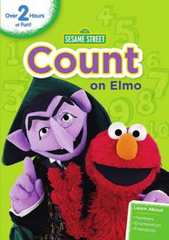 Sesame Street: Count on Elmo - Packed with Fun and Engaging Number-Centric Stories