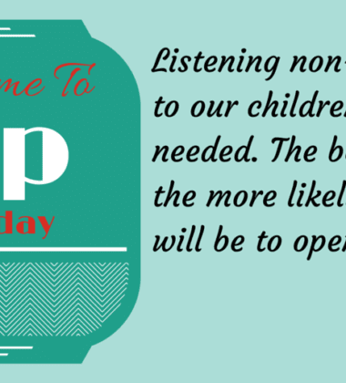 Tip Tuesday-Parenting