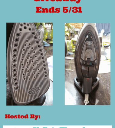 T-fal Ultraglide Iron giveaway ends 5/31