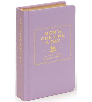 Mom's One Line a Day Journal