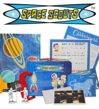 SPACE SCOUTS - Stellar Subscription Club for Kids!