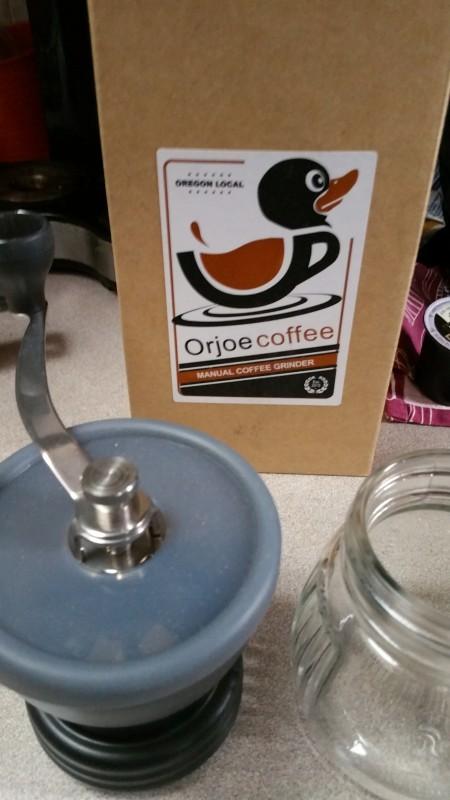 Manual Coffee Grinder - OrJoeCoffee