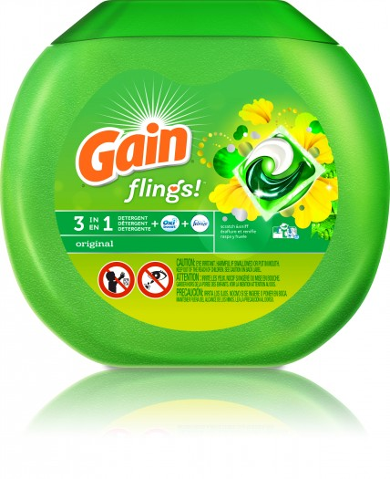Love Doing Laundry Using Gain Flings #laundryredefined #ad