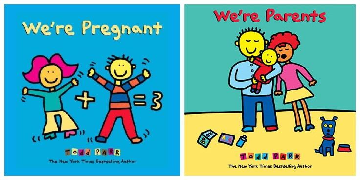 Book Review: We're Pregnant & We're Parents by Todd Parr