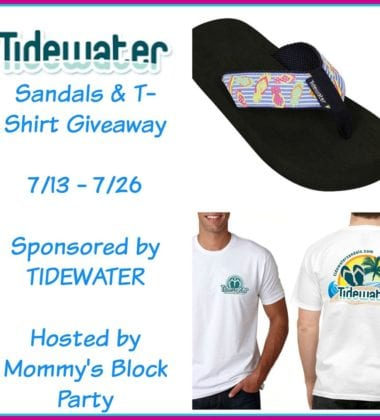 Win Tidewater Sandals they are must-haves for the summer season ends 7/26