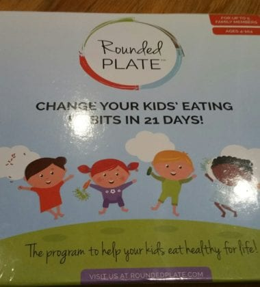 RoundedPlate Game - Change Your Kids Eating Habits in 21 Days