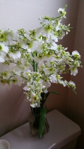 extensive silk flowers collection