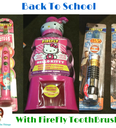 Back To School With Firefly Toothbrush