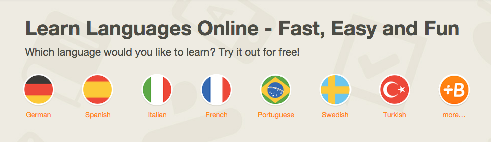 Learn Online- Different Languages!