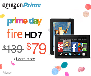 Time To Go Shopping~ Prime Day Sale On Amazon Today Only