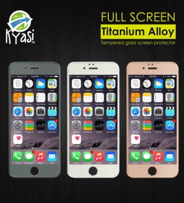Gladiator Glass Ballistic by Kyasi is the most highly rated tempered glass layer you can add to your device. This screen protector not only provides incredible protection
