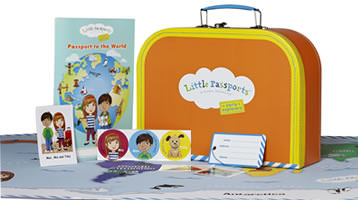 Travel Around With Little Passports Subscription Box- Ages 3-12 #kidslearn