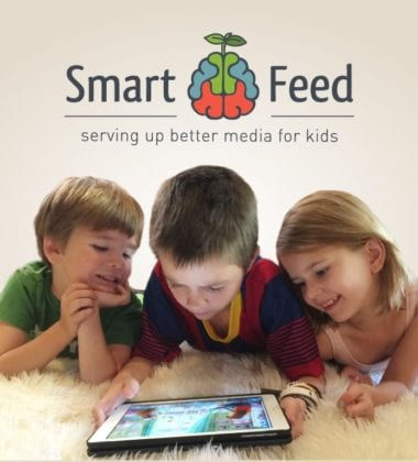 SmartFeed is a family portal for parents to curate, load and rate all kids' media. It offers access to a broad global database of children's digital media with aggregated ratings and reviews from trusted industry leaders.