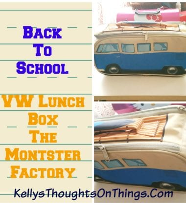 VW Blue Lunchbag