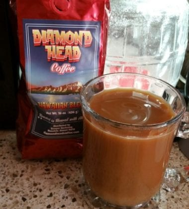 DELICIOUS Diamond Head Coffee Hawaiian Blend .