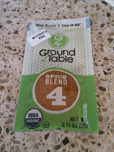 Ground2Table Seasoning Packets