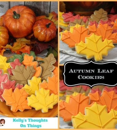 Autumn Leaf Cookie Recipe