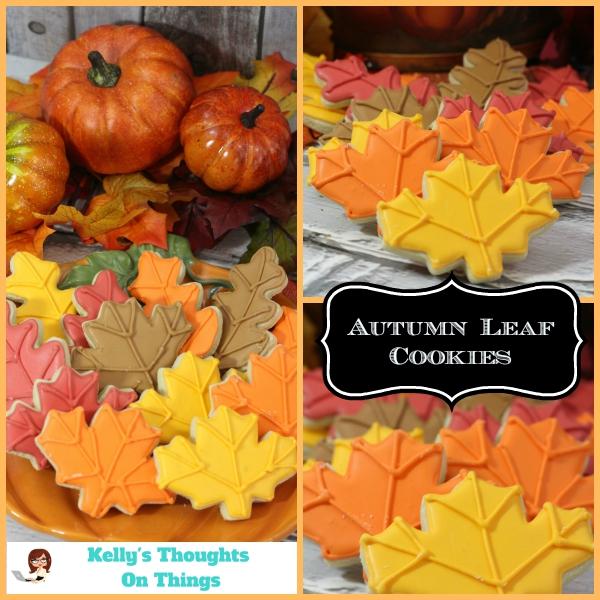 Autumn Leaf Cookie Recipe