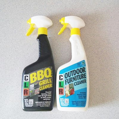 Clean your summer essentials with clr bbq grill cleaner for Outdoor furniture cleaner