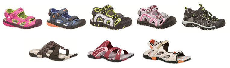 Kamik's Mommy and Me Sandals @KamikOutdoor