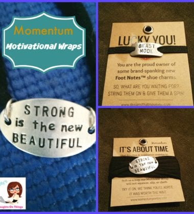 Not everyone thinks about fashion when it comes to fitness, but the newly debuted line of motivational jewelry from Momentum seamlessly combines both style and functionality.
