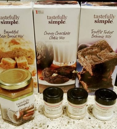 Tastefully Simple Ice Cream Treats