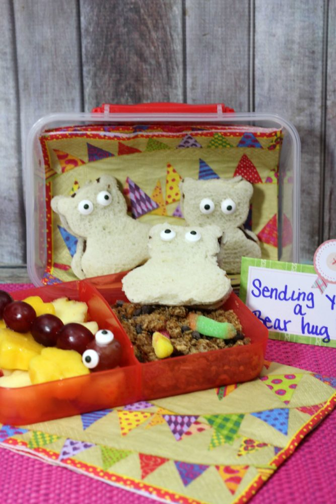 Lunch Box Inspiration: Bear Bento Lunch