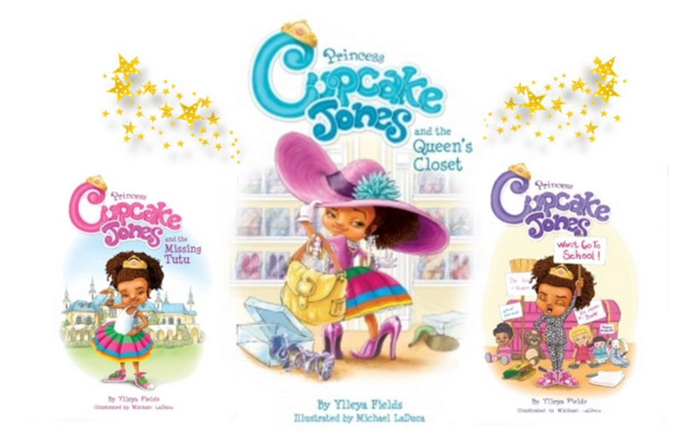 "Back to School ""Show & Tell"" with Princess Cupcake Jones Storybooks"