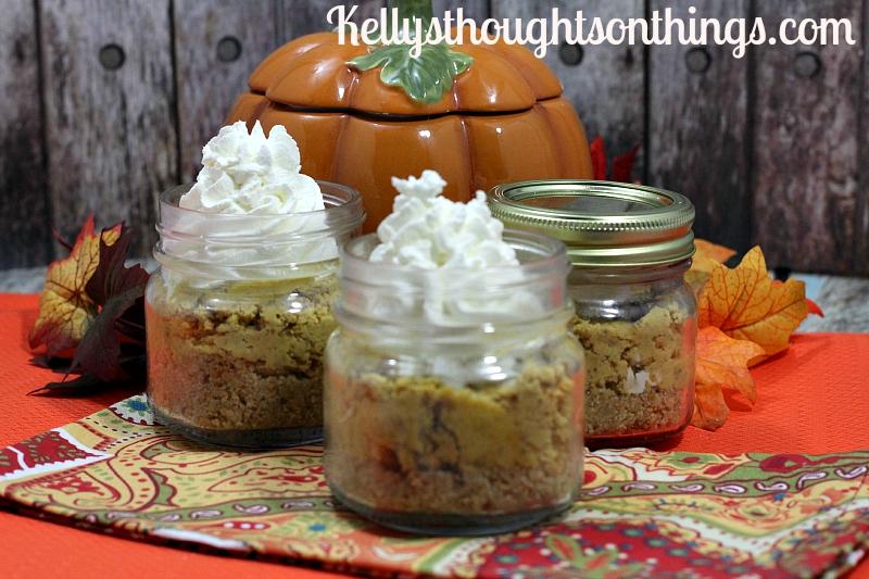 No Bake Pumpkin CheeseCake Mason Jar Recipe