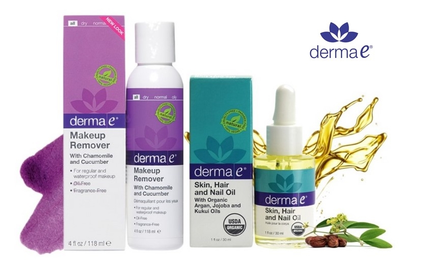 Beauty Cabinet Superstars with Makeup Remover & Hair, Skin, and Nail Oil by Derma e®