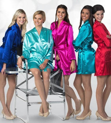 Wedding Party Satin Robes