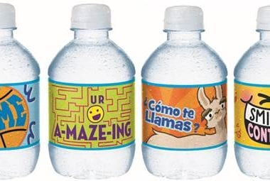 Nestlé Pure Life is now offering limited edition Share-a-Smile 8 oz. bottles